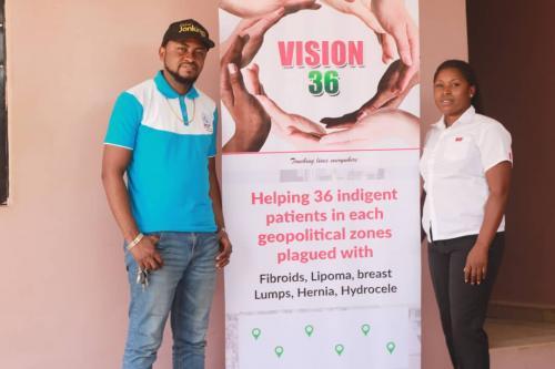 Benjamin Olowojebutu foundation in Benue State. Day 1